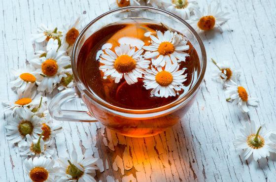 Чай с ромашкой от поноса