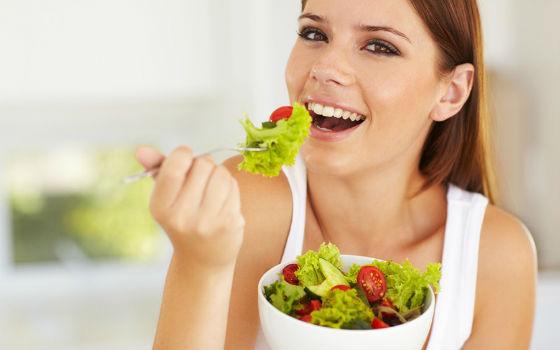 Салат из разрешенных овощей на обед