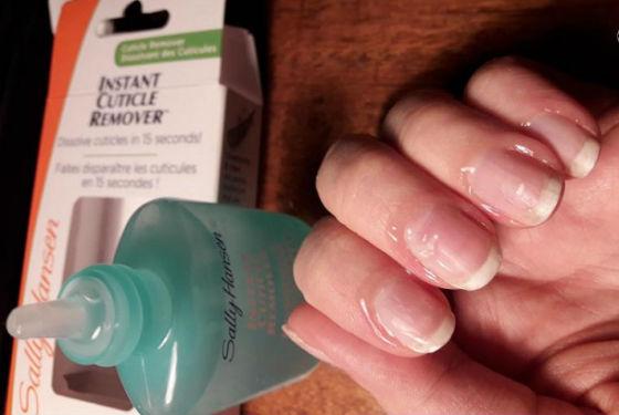 Препарат для удаление огрубевшей кожи вокруг ногтя Sally Hansen