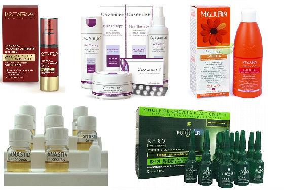 Профессиональные средства для лечения кожи головы