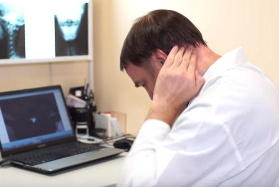 Самомассаж шейных мышц при остеохондрозе