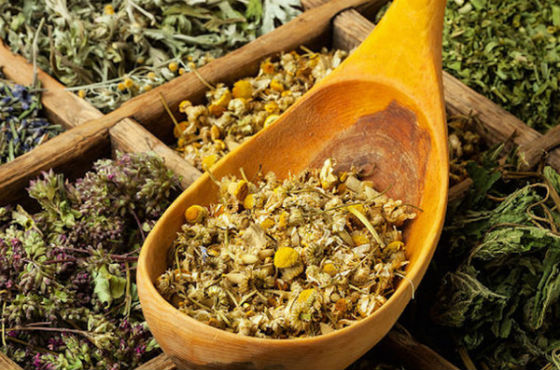 Сбор для травяного чая при высоком давлении