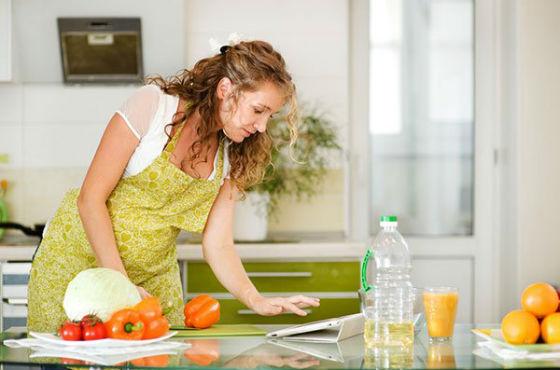 Щадящее питание подходит для беременных женщин
