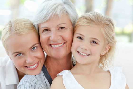 Счастье в общении с детьми и внуками
