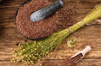 Семя льна с кефиром для очищения кишечника — на что способны природные антиоксиданты