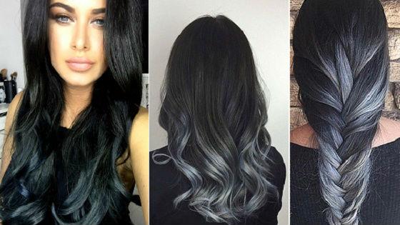 Для очень темных и черных волос