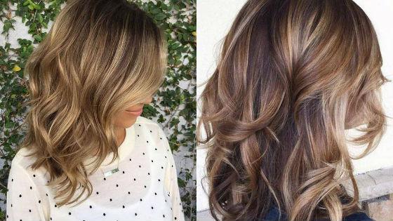 При помощи данной техники можно осветлить волосы на несколько тонов