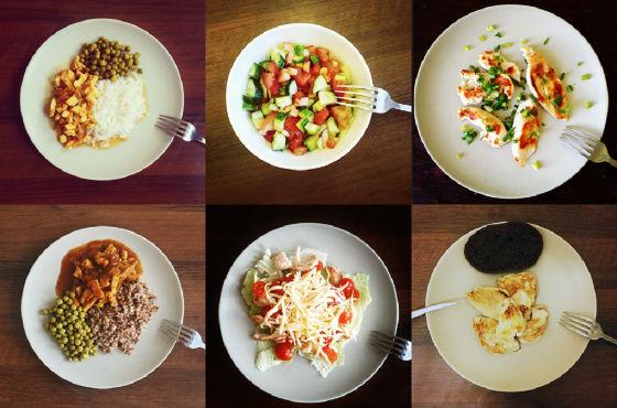 Дробное питание при щадящей системе питания