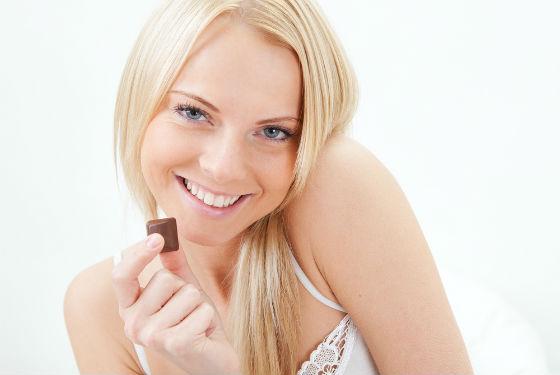 Шоколад при диетическом питании следует есть с осторожностью