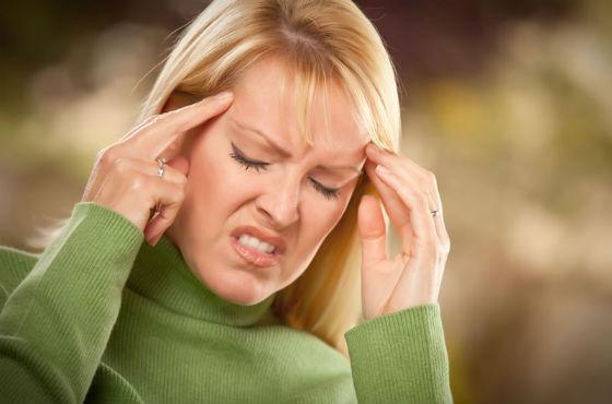 Мигрени как частые проявления климакса