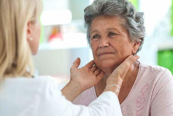 Пальпация как метод диагностики опухолей щитовидки