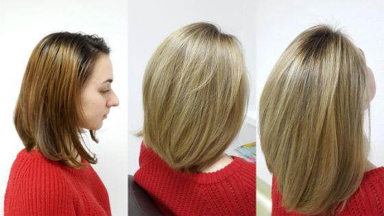 Поможет скрыть неудачную покраску волос