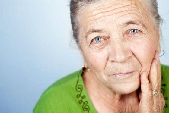 Смешанный морфотип возрастных изменений