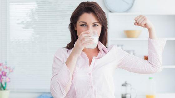 Снижение веса при употреблении козьего молока