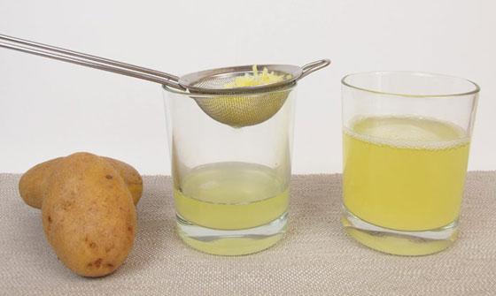 Сок картофеля при заболеваниях желудка
