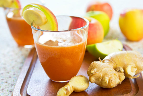 Свежевыжатые соки для избавления от холестериновых бляшек
