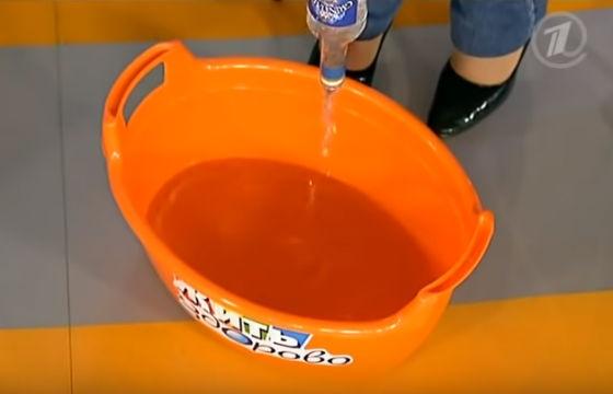 Спиртовые ванночки для избавления от запаха ног