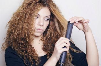 Как убрать объем волос стрижкой
