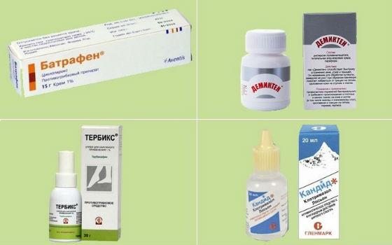 Разнообразие антимикотических средств