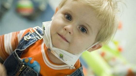 Во время лечения лейкемии ребенок должен находиться в стерильных условиях
