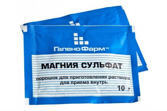 Аптечная английская соль для приготовления раствора