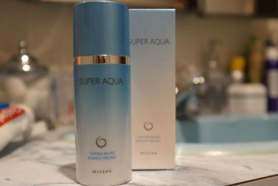 Мака Super Aqua Oxygen Micro Essence Peeling