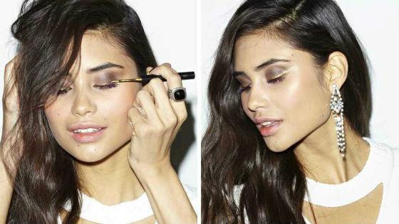 Правильное нанесение теней для женщин с карими глазами
