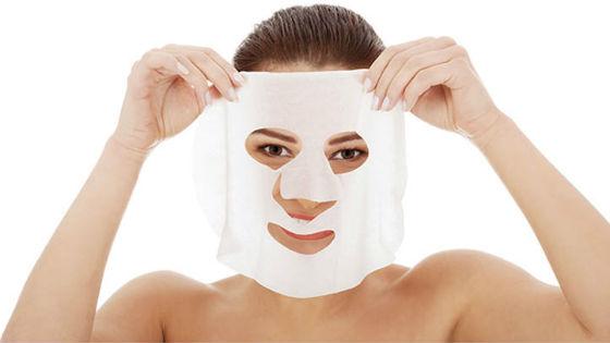 Тканевые маски с коллагеном просты в использовании