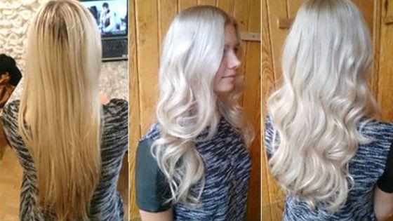 Цвет тонирующих составов для светлых волос