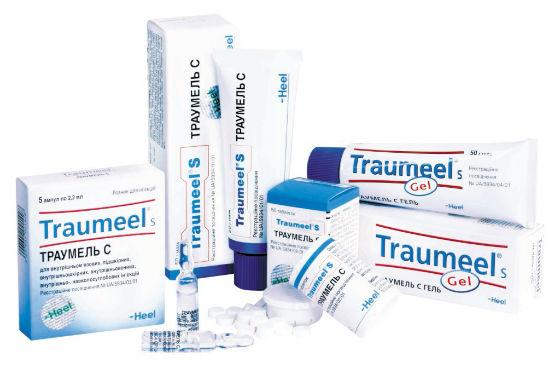 Траумель для снятия болевых ощущений в мышцах