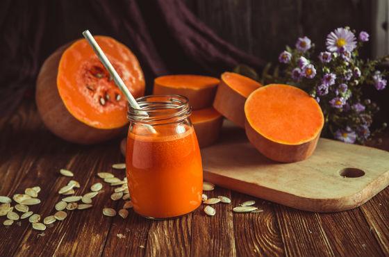 Тыквенный сок для красоты и похудения