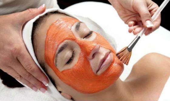 Сок тыквы в составе масок для лица