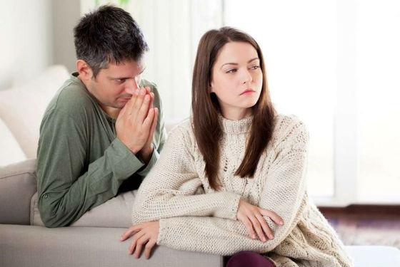 Если удалось простить, не стоит вспоминать супругу обиды