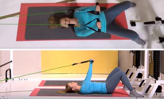Растяжение мышц спины и груди