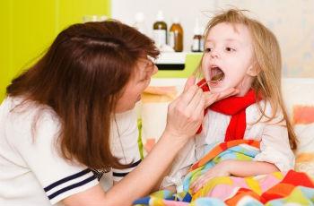 Большие миндалины у ребенка что значит