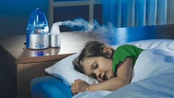Увлажнение воздуха для профилактики вирусных и бактериальных заболеваний