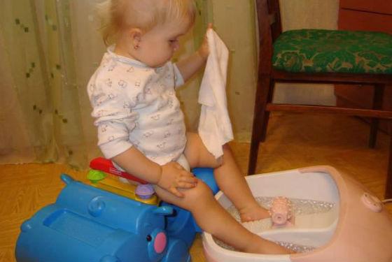 Ванночки как эффективное средство от слоения ногтевой пластины