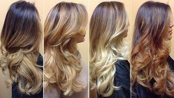 Разнообразные варианты для длинных волос