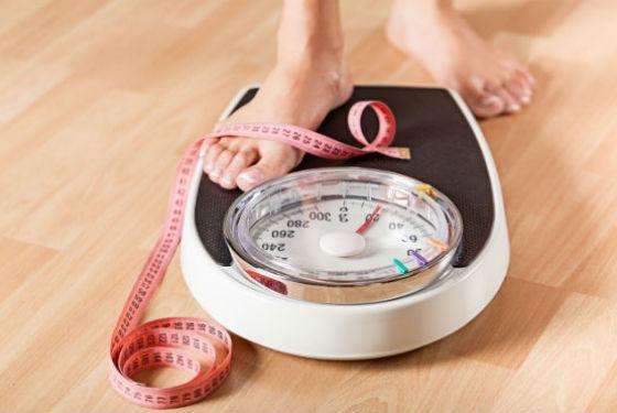 Контроль веса является обязательным на диете