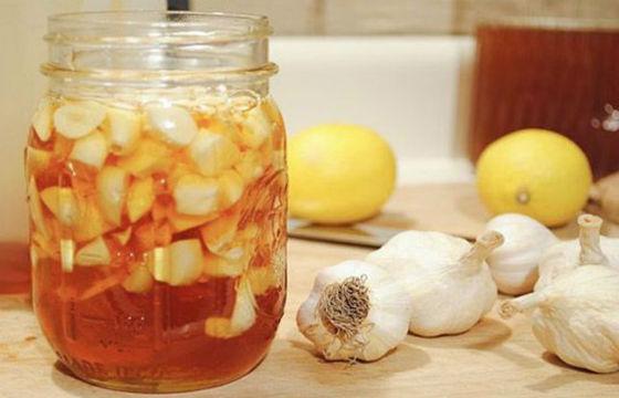 Мед и лимон, настоянные на яблочном уксусе