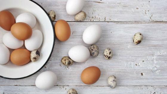 Куриные яйца можно заменить перепелиными