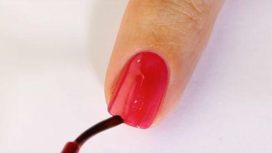 Запечатывание торца ногтевой пластины