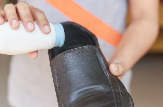 Присыпка для устранения влажности в обуви
