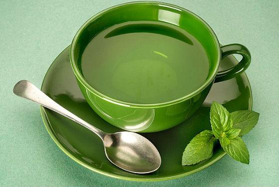 В неограниченном количестве можно пить зеленый чай